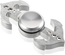 Edc Anchor Form Aluminum Fidget Spinner- Sølv