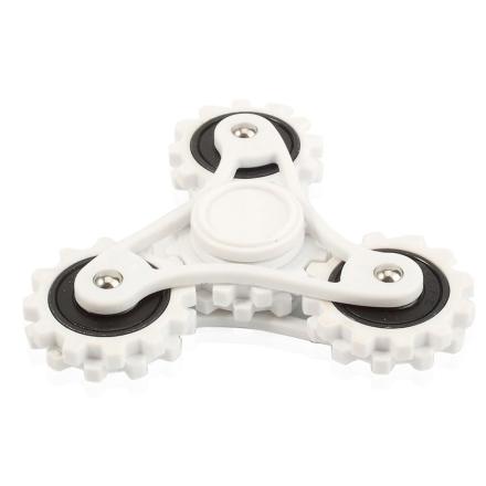 EDC Tri-Spinnerspinner Figdet spinner- Black/ White