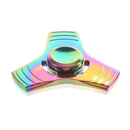 EDC colorized Tri-Spinner spinner Fidget Spinner