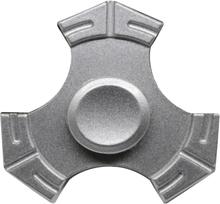 Edc Kirsite Tri-Spinnerspinner Fidget Spinner- Sølv