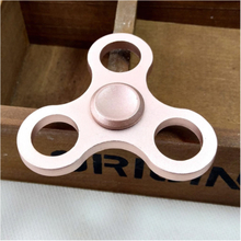 Edc Aluminiumslegering Tri-Spinner Spinner Fidget Spinner- Rose Gull