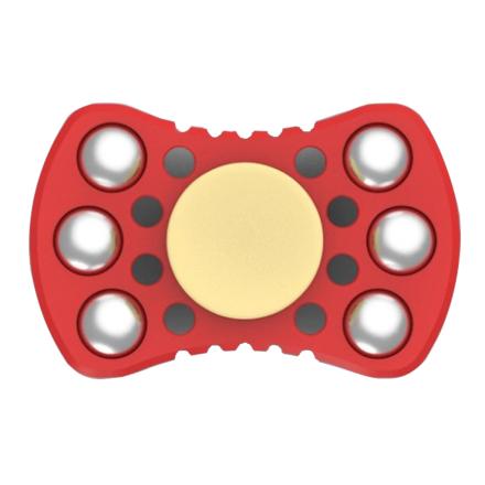 Steel balls Fidget spinner- Red