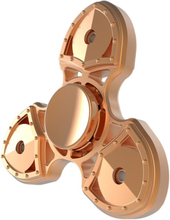 Swiss Knife Tri-Spinner Spinner 3-Arm Fidget Spinner- Rose Gull