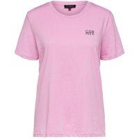 SELECTED Økologisk Bomuld - T-shirt Kvinder Lyserød - BESTSELLER