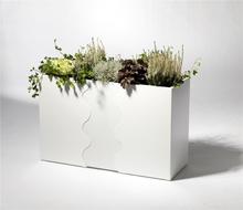 SMD Design Blomlåda Urban Vit/Svart