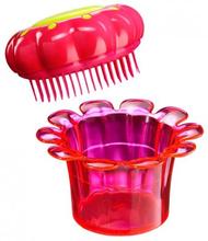 Tangle Teezer Flowerpot / Barnens favorit borste (Popping Purple)