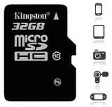 Kingston Canvas Select 32GB MicroSD inkl. adapter