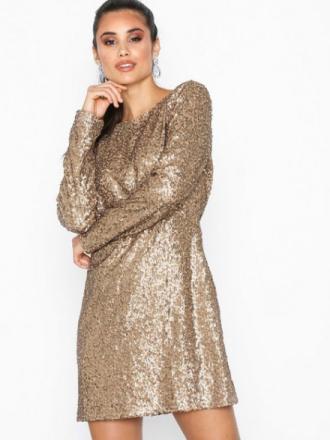 NLY Trend Glamorous Sequin Dress Paljettklänningar