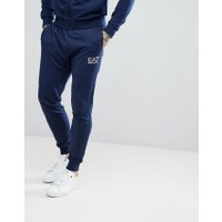 EA7 Slim Fit Small Logo Sweat Joggers In Navy - 1554 navy