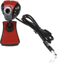 Tiro 5 MP Webcam m/ LED