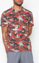 Nike M Nk Brt Rise 365 Top Ss Tränings t-shirts Brun