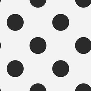Superfresco Easy - Tapet non-woven Prikker - Sort - 1005x53 cm