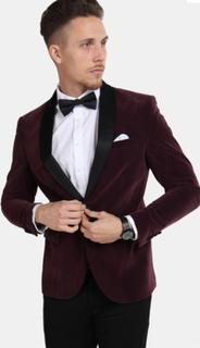 Only & Sons Teo Velour Blazer Fudge