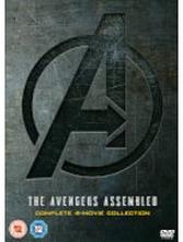 Avengers 1-4 Komplettes DVD Boxset