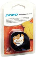 DYMO LetraTag silitysteippi tekstiiliä valkoinen 12 mm 2m