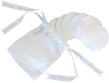 Bomullspads 10-pack Tvättbara GOTS