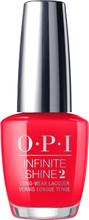 OPI Infinite Shine Coca Cola Red 15 ml