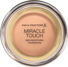 Osta Miracle Touch Liquid Illusion Foundation, 45 Warm Almond 11,5 g Max Factor Meikkivoiteet edullisesti