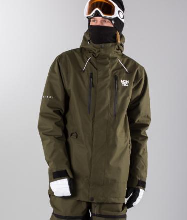 Montec Snowboardjakke Fawk