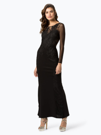 Lipsy - Damska sukienka wieczorowa, czarny