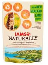 Iams - Naturally karma dla kota jagnięcina w sosie