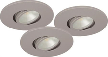 Malmbergs Downlightset MD-350 LED 230V Silver IP21