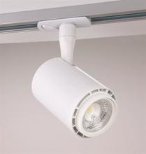 Malmbergs LED Track Light Velo 1-fas Vit 8W 230V