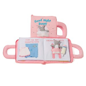 oskar&ellen Good Night Book Pink Swedish