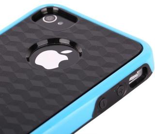 Cubus - Dual Compound (ljusblå) Iphone 4/4s Kombinationsskal