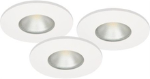 Malmbergs Downlightset MD-315 LED 230V Vit IP44