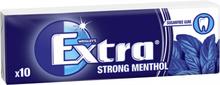 """Tuggummin """"Strong Menthol"""" 14g - 21% rabatt"""
