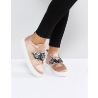 ASOS - DESERT ROSE - Utsmyckade sneakers - Varm