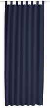 Kant en Klaar Gordijn Met Lus Donkerblauw - 140cm x 260cm