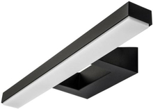SG View vegglampe LED 16W/830, Sort