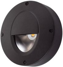 SG Callisto utendørs vegglampe 4W LED, Sort
