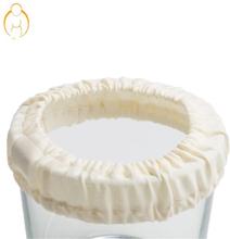 Mokosha - Töpfchenbezug (100% Bio-Baumwolle) - Cremeweiß