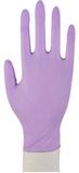Handske nitril puderfri lila S 100/FP