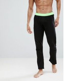 Brave Soul Lounge Pants - Black