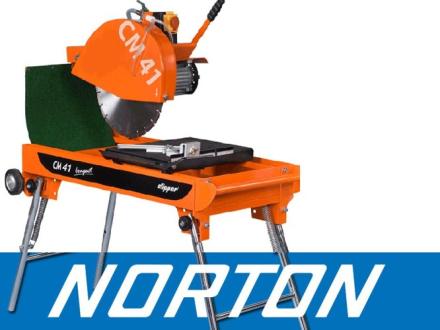 NORTON CLIPPER CM42 COMPACT PIŁA PILARKA PRZECINARKA STOŁOWA STOLIKOWA DO KOSTKI BUDOWLANA EWIMAX - OFICJALNY DYSTRYBUTOR - AUTORYZOWANY DEALER NORTON CLIPPER