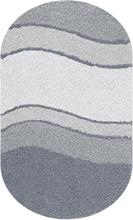 Kleine Wolke Badrumsmatta Siesta Antracit- 70x120