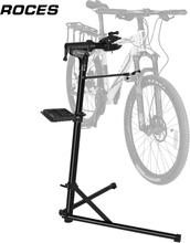 Bike Repair Stand Home Portable Bicycle Mechanics Workstand for MTB Road Bike Maintenance Repair Tool Aluminum Alloy Floor Stand