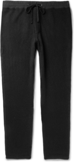 Tapered Cashmere Sweatpants - Black