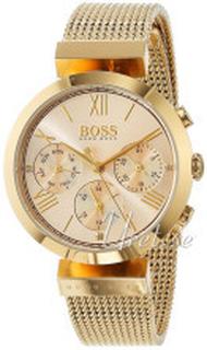 Hugo Boss 1502425 Sport Champagnefarget/Gulltonet stål Ø34 mm