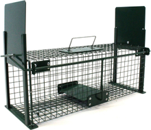 Rattenval - 61x21x23cm - dubbele ingang