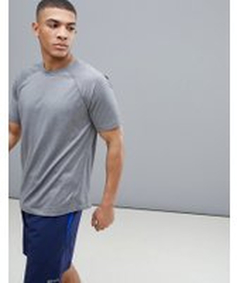Marmot - Active Accelerate SS - Grå tränings-t-shirt - Grey storm heather