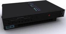 Playstation 2 Basenhet Svart - Playstation 2 (käytetty)