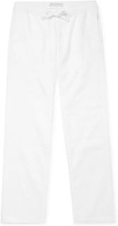 Stoneleigh Linen Drawstring Trousers - White
