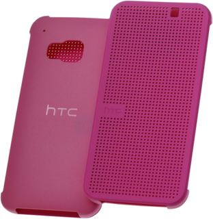 HTC Dot View for One M9 pink