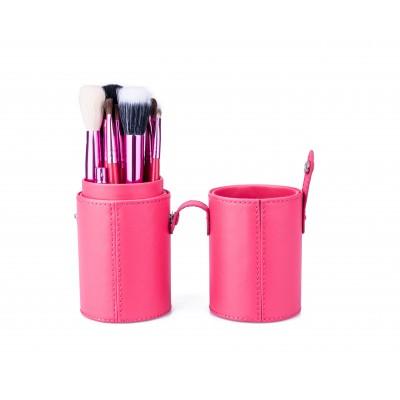 Basics Makeup Brush Set Pink 12 kpl