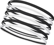 Nike Swoosh Sport Headbands 6p 2.0 Treenitarvikkeet BLACK/WHITE